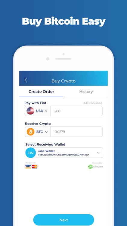 Infinito Wallet - Crypto Safe
