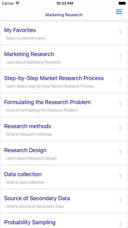 MBA Marketing Research screenshot-4