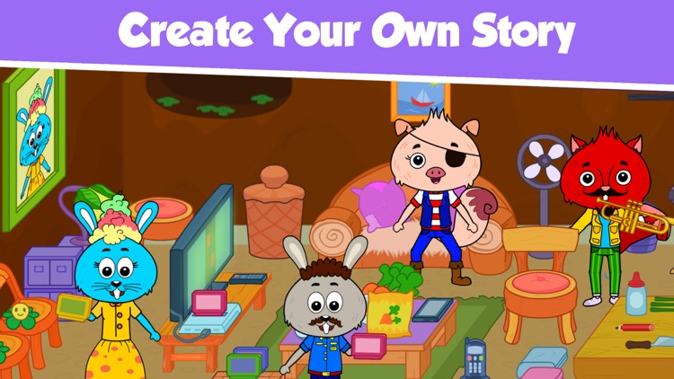 My Animal Town - Pet Games