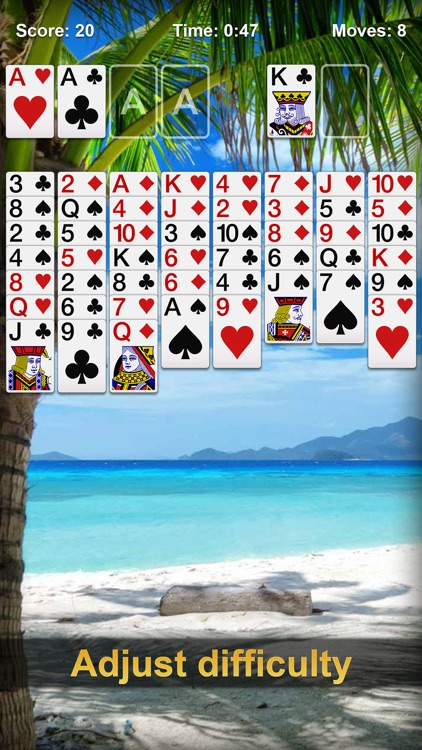 FreeCell Solitaire ∙ Card Game screenshot-3
