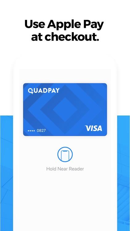QuadPay: Any Store, Split in 4 screenshot-5