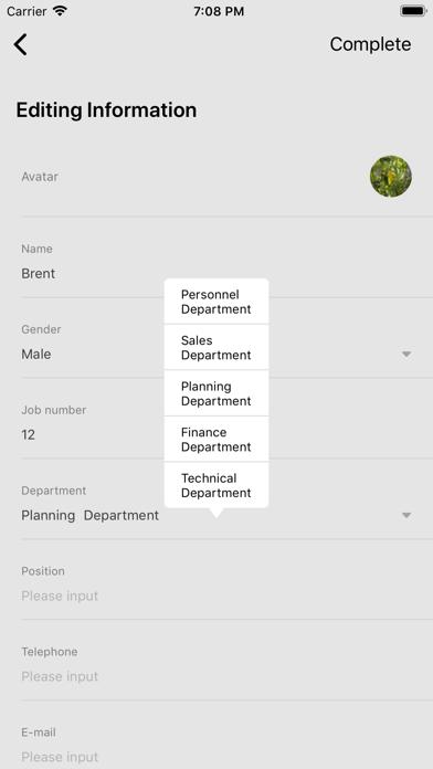 HuiKe Employee Manage screenshot 4