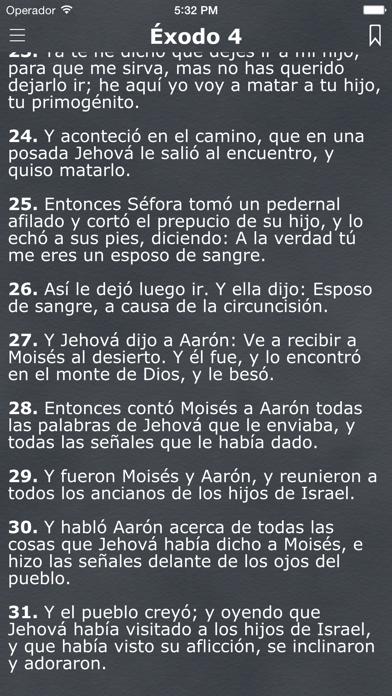 La Biblia Reina Valera Español screenshot two