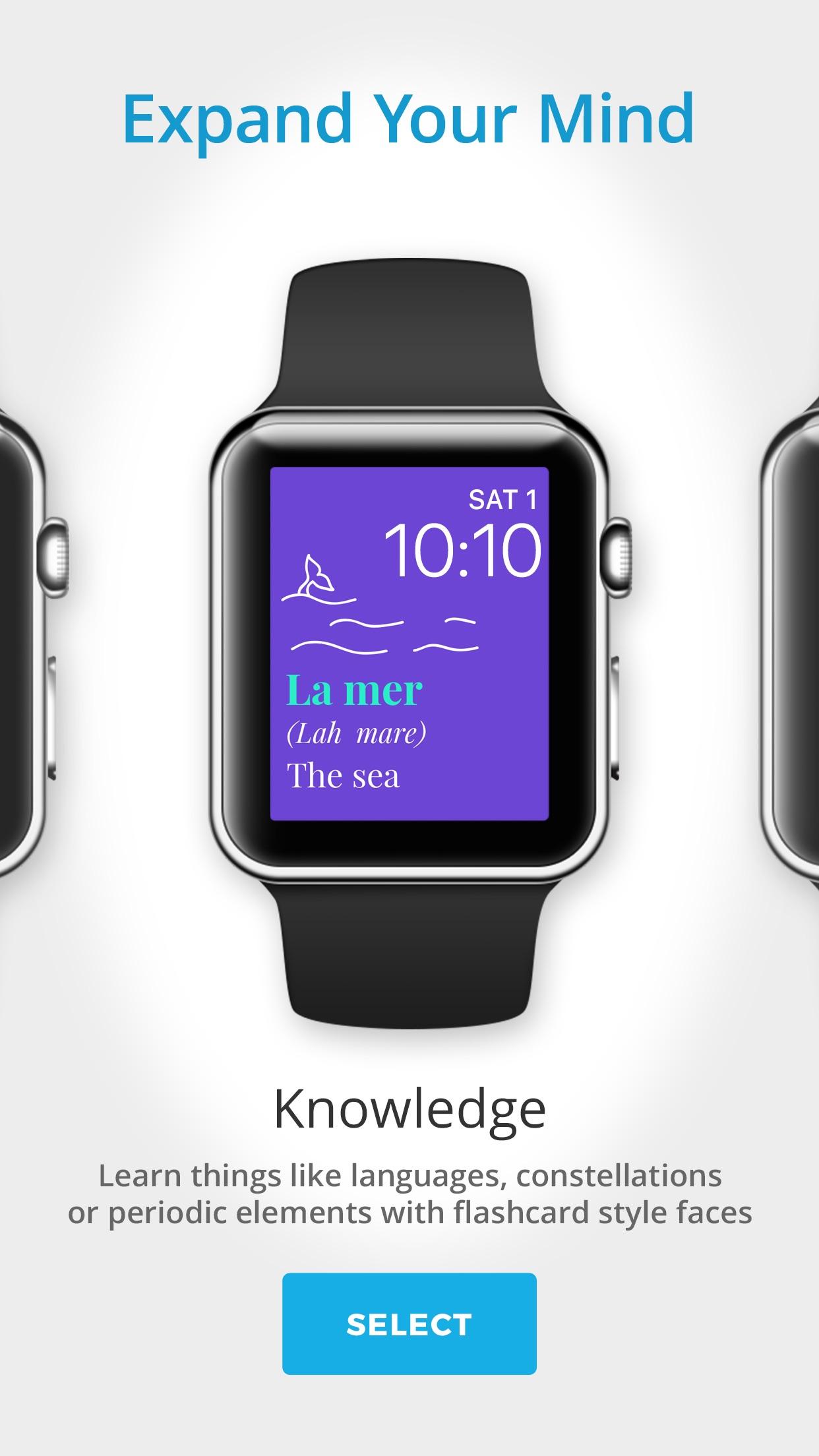 Screenshot do app Facer Watch Faces