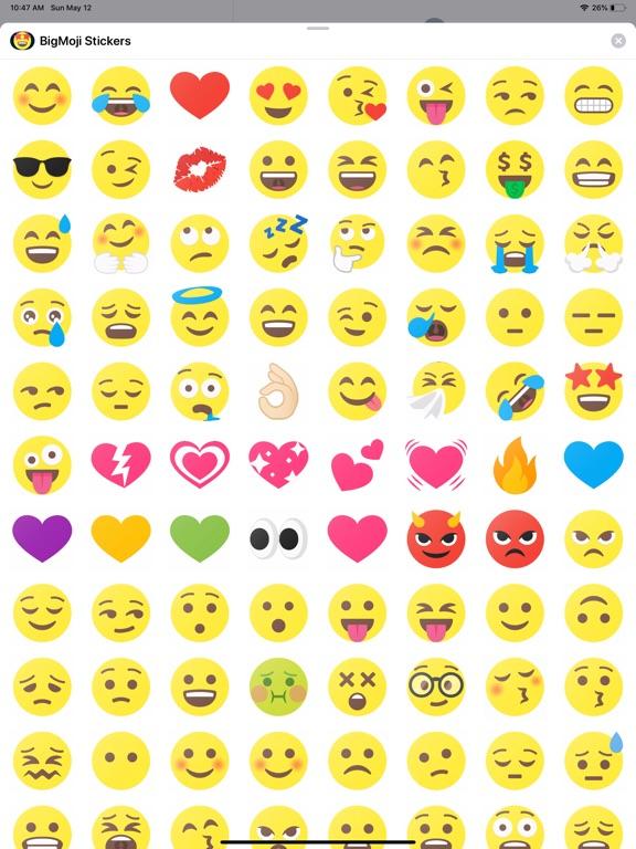 BigMoji 180+ Emoji Stickers screenshot 4