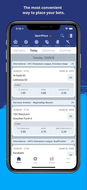 SportPesa on the App Store