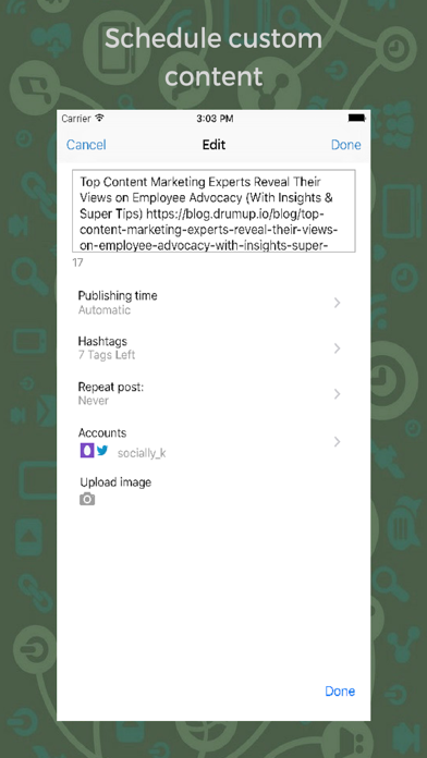 DrumUp-Social Media Management screenshot four