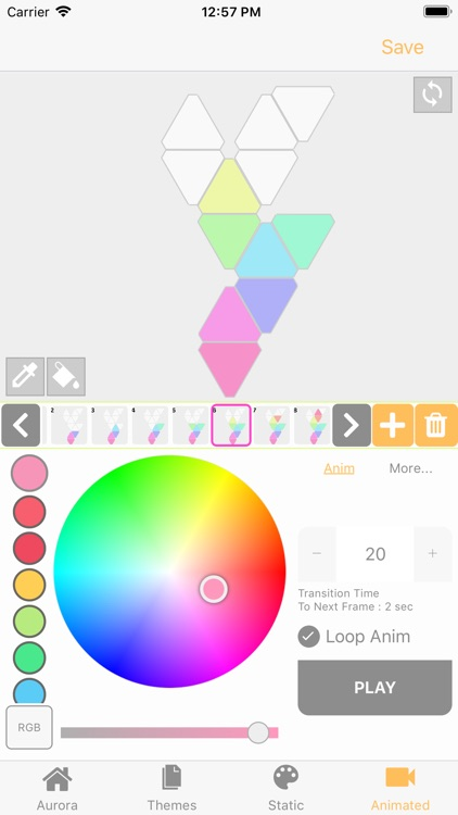 FireflyPro for Aurora Nanoleaf