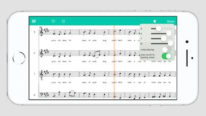 Screenshot #3 pour Score Creator: faire musique