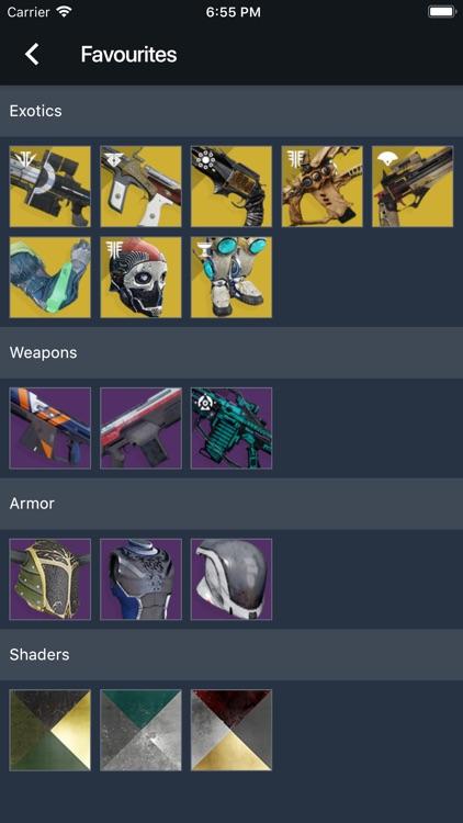 Item Explorer for Destiny 2 screenshot-9