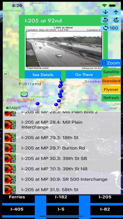 Traffic Camera Washington Pro screenshot-7