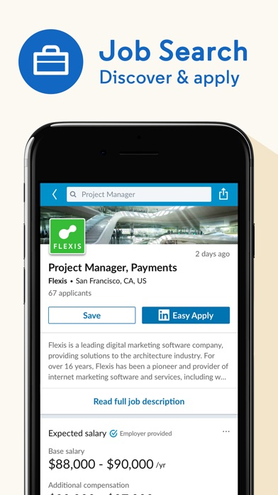 Screenshot for LinkedIn: Network & Job Search in United States App Store