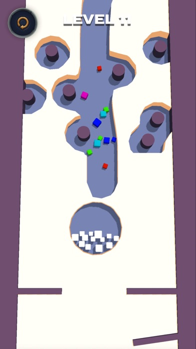 Falling balls: draw the path screenshot #2