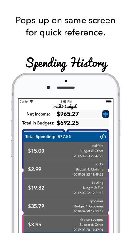 Multi-Budget screenshot-4