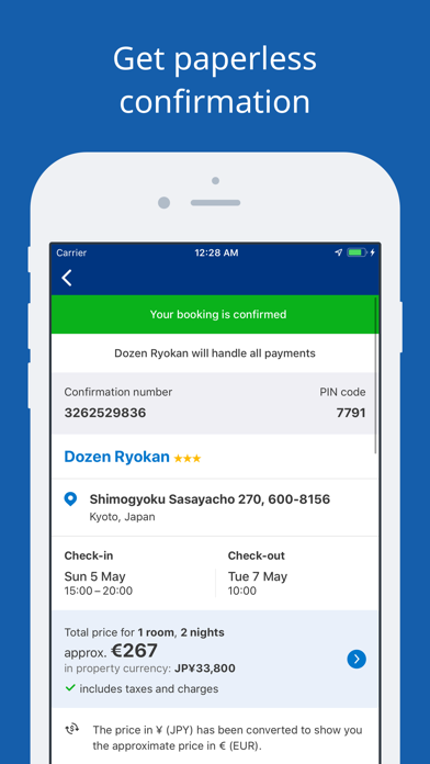 Screenshot for Booking.com Travel Deals in Philippines App Store