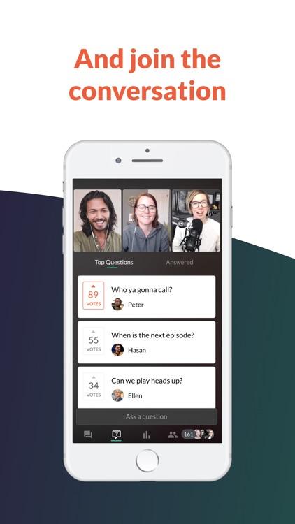 Crowdcast Mobile screenshot-3