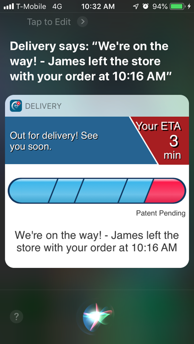 Domino's Delivery Experience screenshot 3