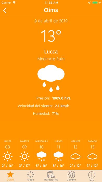 Guía y Mapa de LuccaCaptura de pantalla de9