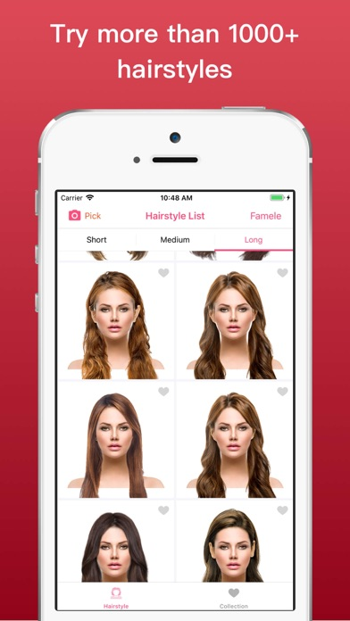 Hairstyle Try On Color Changer By Chao Long Ios United