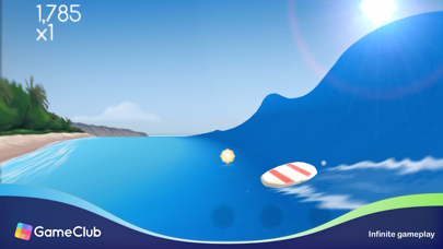 Screenshot Infinite Surf - GameClub
