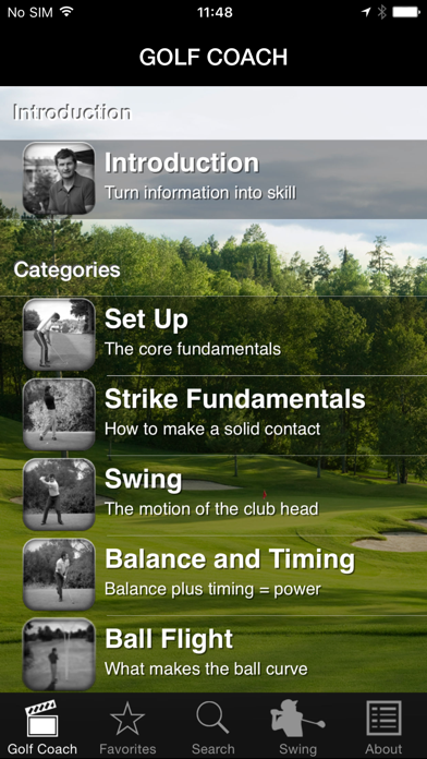 Golf Coach By Dr Noel Rousseau review screenshots