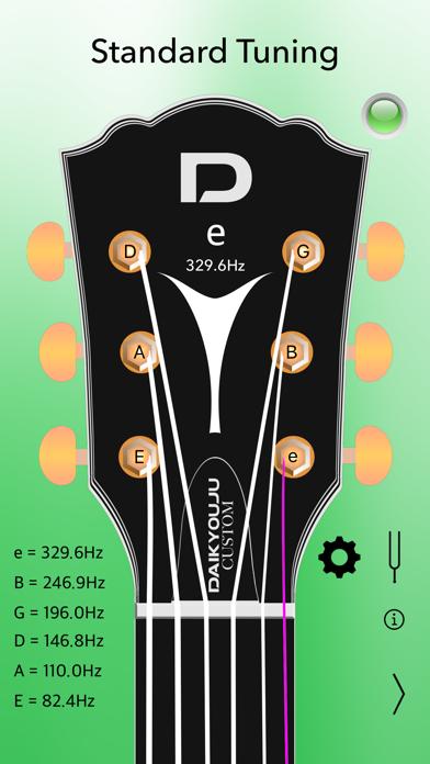 Acoustic Guitar Tuner Pro Screenshots