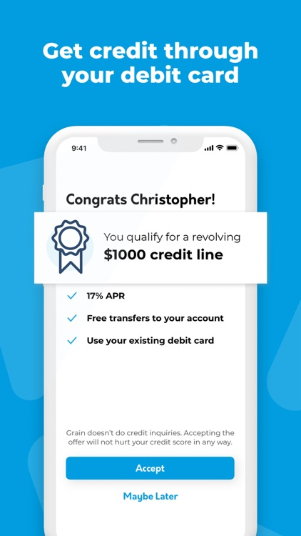Grain: Get and Build Credit