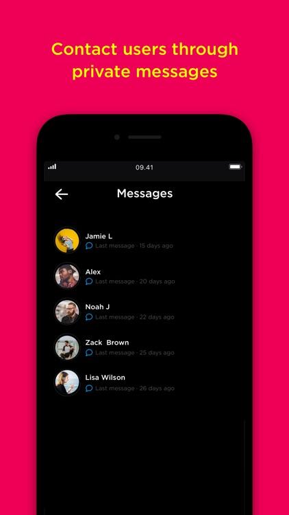 Popout-live social audio app screenshot-4