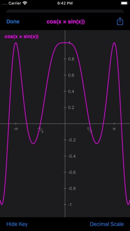 GraphCalcPro2Go screenshot-3
