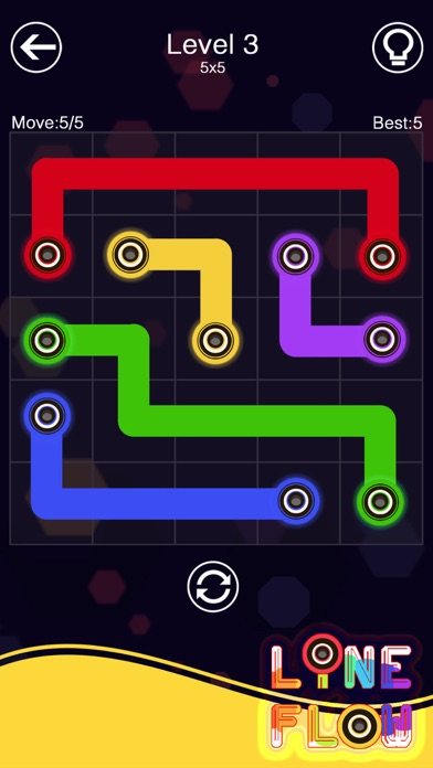 Foto do Line Link - One Line Puzzle !