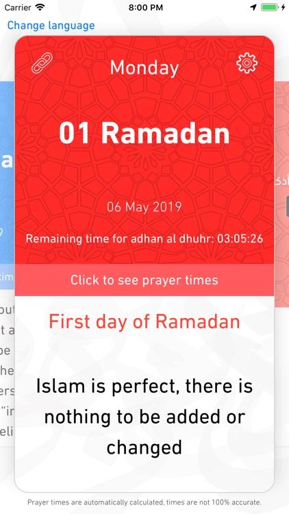 Imsakyet Ramadan 2021 screenshot-3