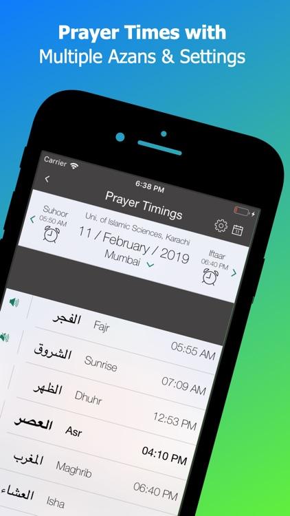 Islamic Calendar: Azan & Quran screenshot-3