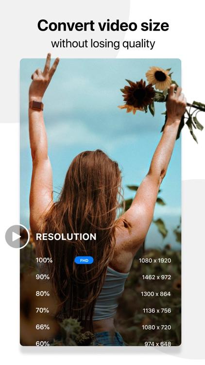 Compress, Crop & Resize Video