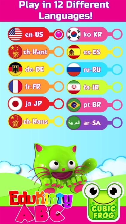 ABC Games for Kids-EduKittyABC screenshot-4