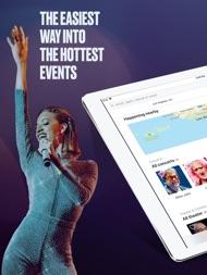 StubHub: Event Tickets ipad images