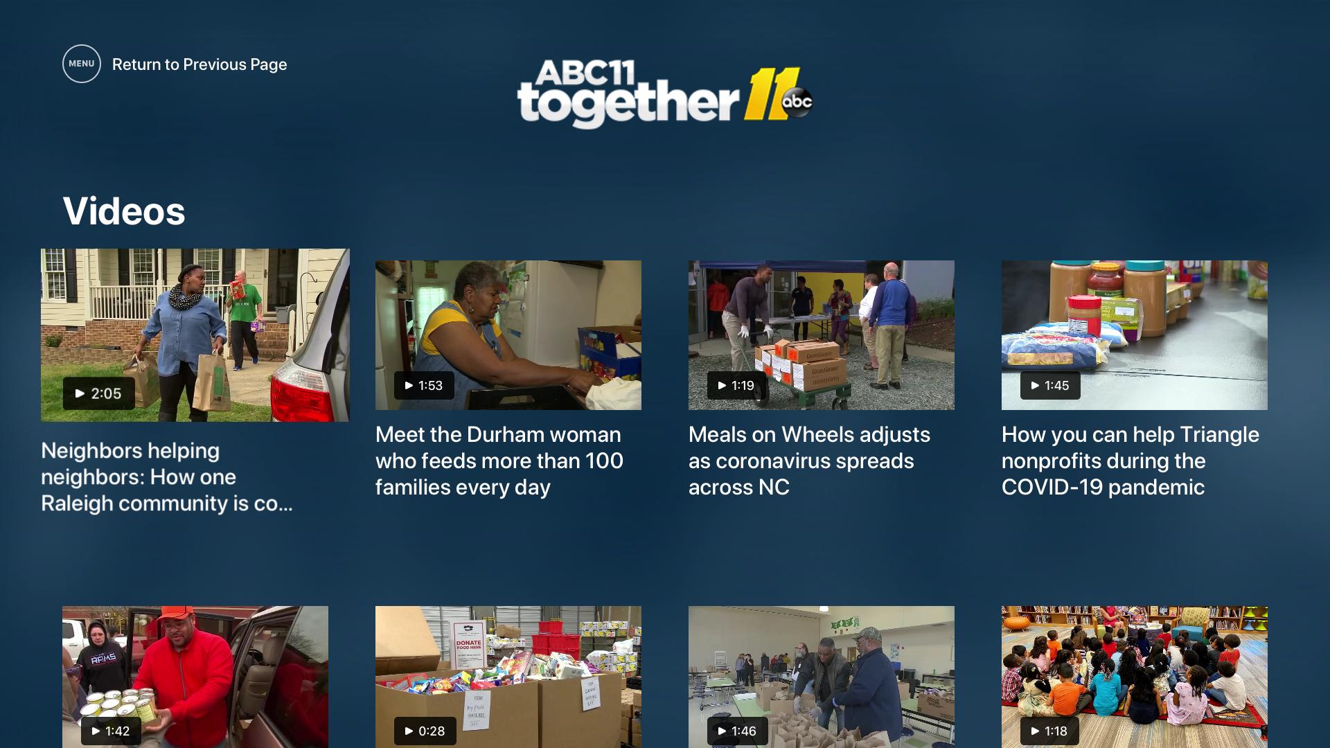 ABC11 North Carolina screenshot 19