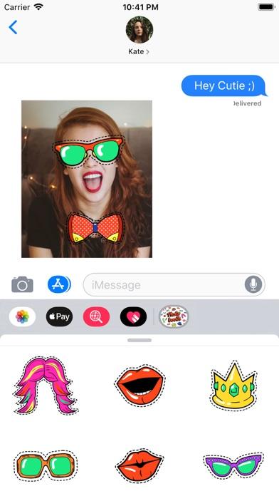 Fancy Selfie Photo Booth Props screenshot 1