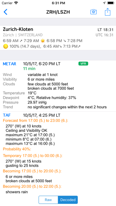AeroWeather Lite screenshot two