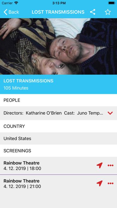 Whistler Film Festival screenshot four