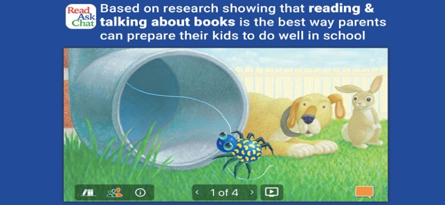 ReadAskChat for Children 0-4 Screenshot