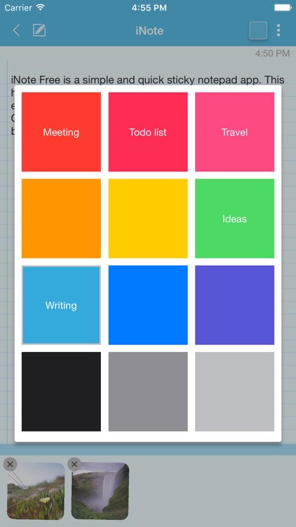 iNote Pro - Sticky Color Note screenshot-3