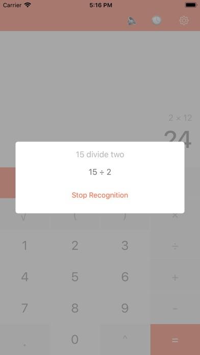 F12 Voice Calculator PRO app image