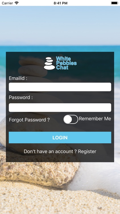 White Pebbles Chat screenshot-1