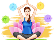 Yoga Poses Stickers Pack