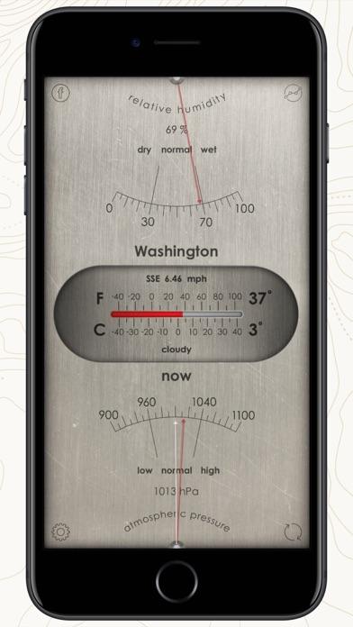 Weather Station: barometer appのおすすめ画像2