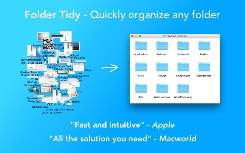 Folder Tidy Screenshots
