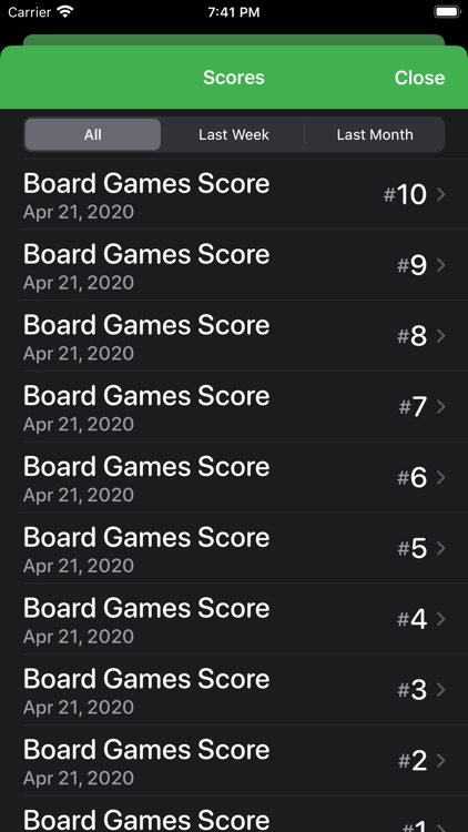 Score Tracking and Statistics screenshot-8