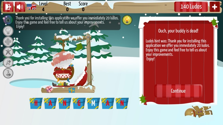 Christmas Hangman Deluxe screenshot-1