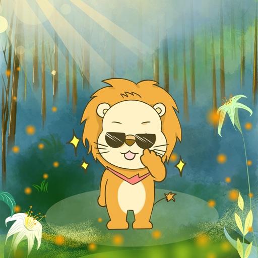 Cute Little Lion