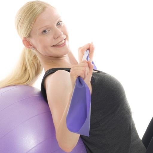 Training ball & exercise band
